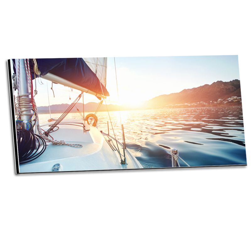 Express Panoramabilder Eck-Bohrung als Panorama im Format 45 x 15 cm