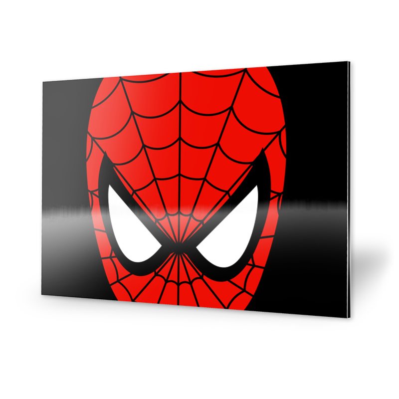 Spiderman Bild Alu-Dibond
