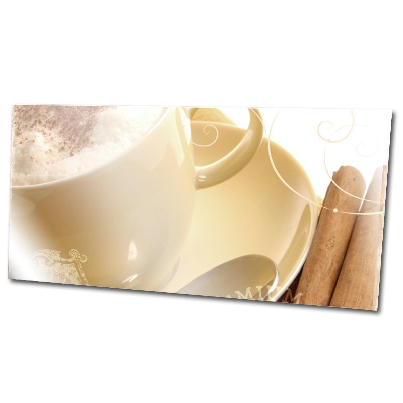 Bild Cafe Glasdruck