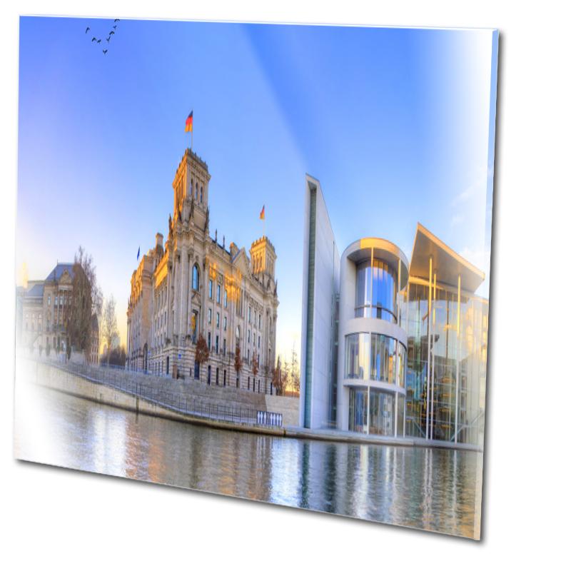 Reichstag Fotos Glasdruck