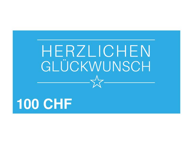 Image of 100 CHF myposter Geschenkgutschein
