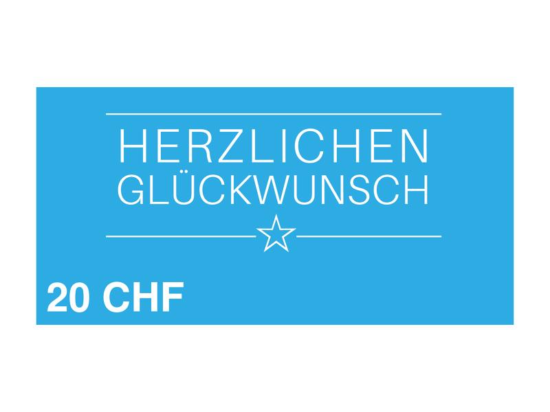 Image of 20 CHF myposter Geschenkgutschein