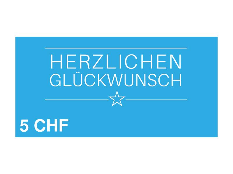 Image of 5 CHF myposter Geschenkgutschein