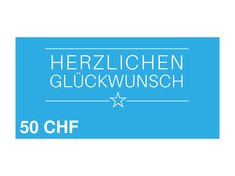 Image of 50 CHF myposter Geschenkgutschein