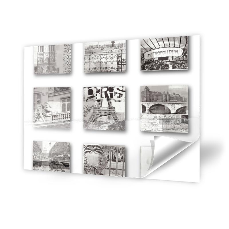 Collage Paris Fotofolie