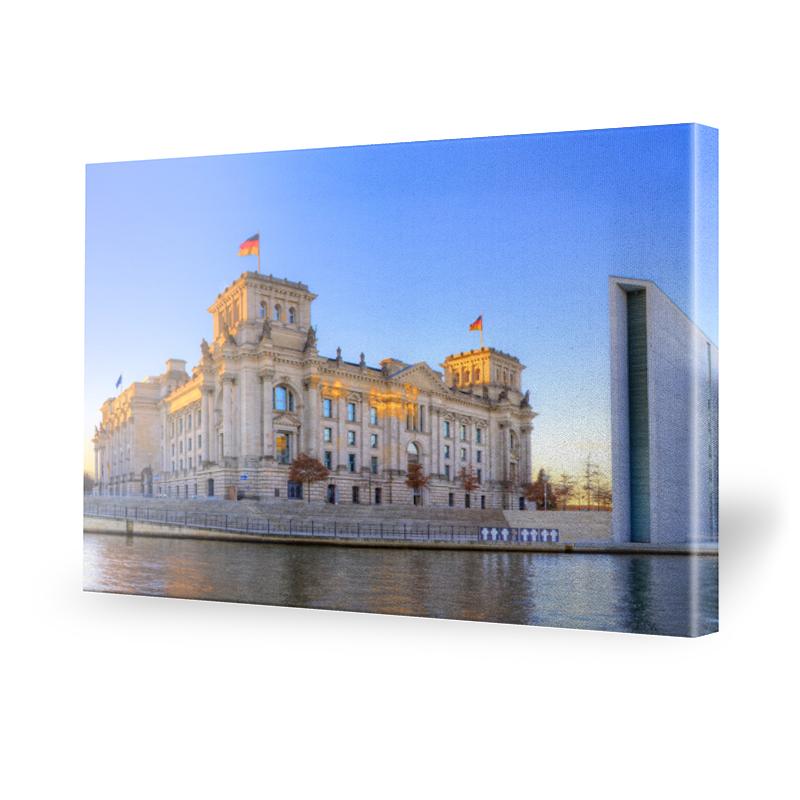 Reichstag Fotos Leinwand Bild