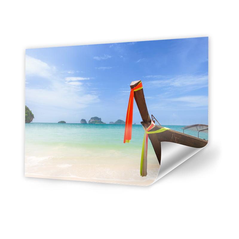 Boote Strand Thailand Poster drucken