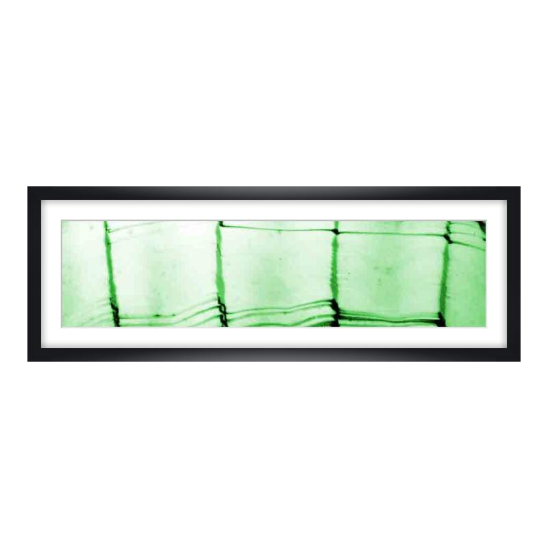 Express Fotopanorama im Bilderrahmen aus Holz in schwarz als Panorama im Format 60 x 15 cm